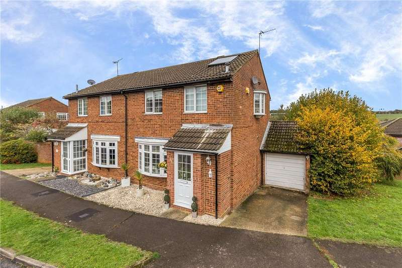 3 Bedrooms Semi Detached House for sale in Farrer Top, Markyate, St. Albans, Hertfordshire