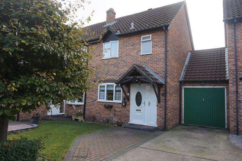 2 Bedrooms Semi Detached House for sale in Wheelers Green Way, Thatcham