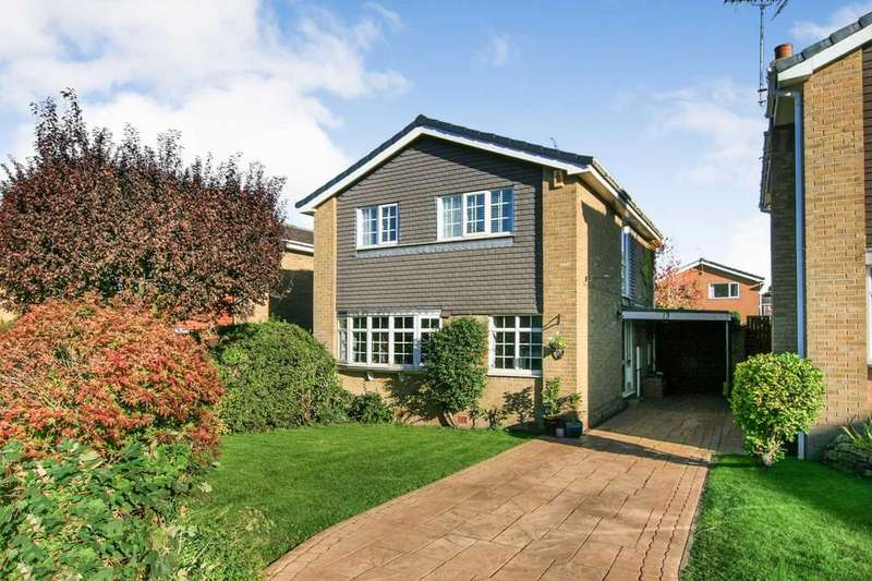 4 Bedrooms Detached House for sale in Grasmere Road, Dronfield Woodhouse, Derbyshire S18 8PS