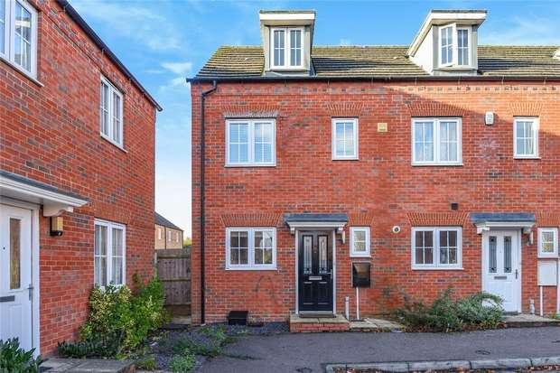 3 Bedrooms End Of Terrace House for sale in Grenadier Close, Bedford