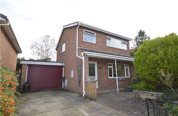 3 Bedrooms Detached House for sale in Wessex Drive, CHELTENHAM, Gloucestershire, GL52 5AU