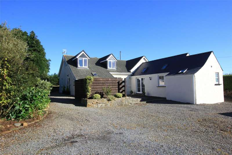 4 Bedrooms Detached House for sale in Bramble Cottage, Yerbeston, Kilgetty, Pembrokeshire