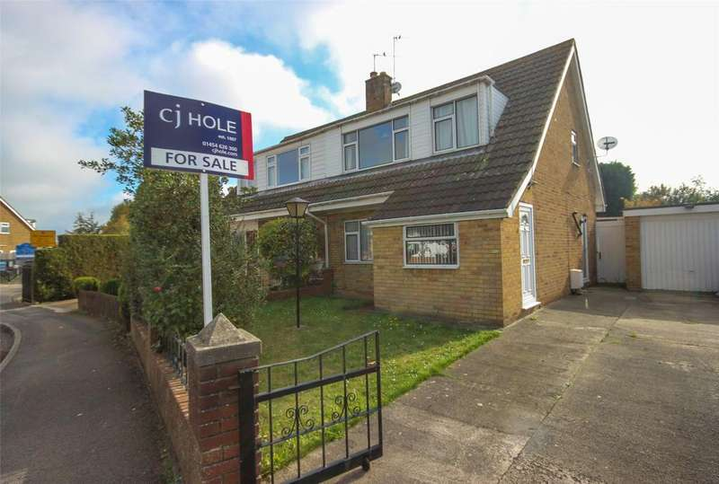 3 Bedrooms Semi Detached House for sale in Cranham Drive, Stoke Lodge, Bristol, BS34