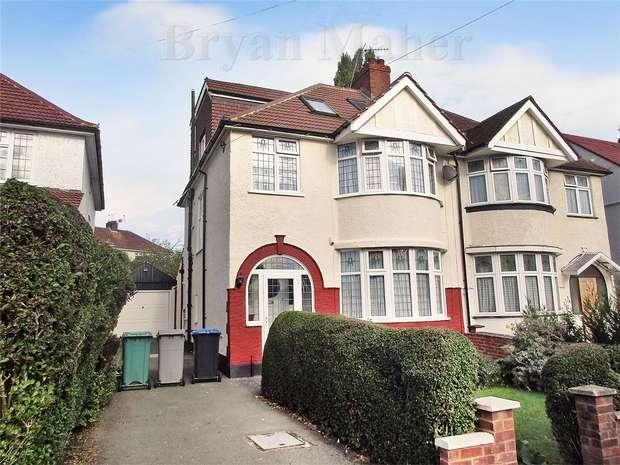 5 Bedrooms Semi Detached House for sale in Deanscroft Avenue, LONDON