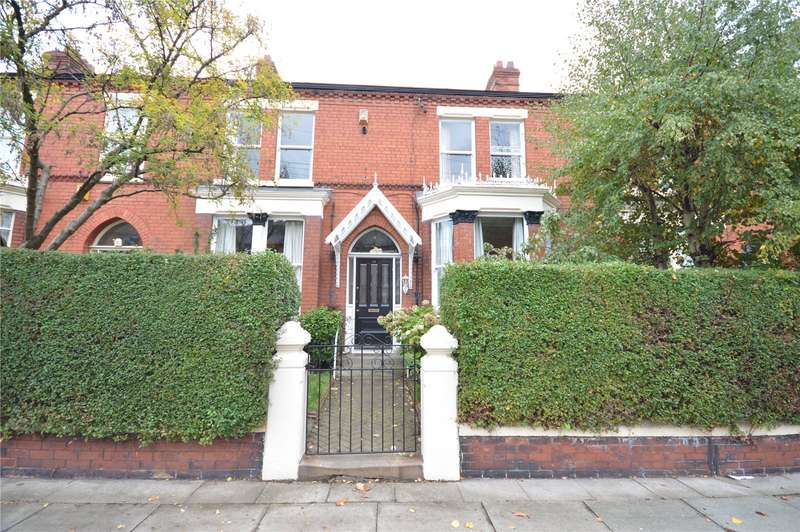 5 Bedrooms Terraced House for sale in Cumberland Avenue, Sefton Park, Liverpool, L17