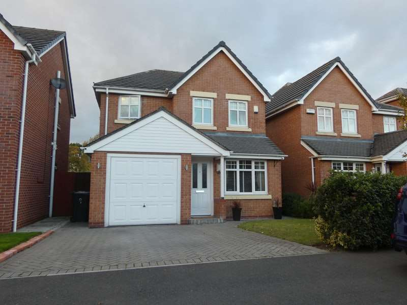 4 Bedrooms Detached House for sale in Hornchurch Drive, Warrington, Cheshire, WA5