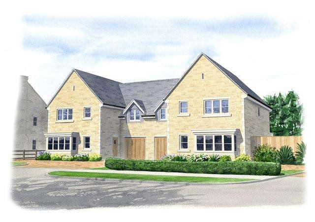 4 Bedrooms Semi Detached House for sale in Glapthorn, Near Oundle, PE8