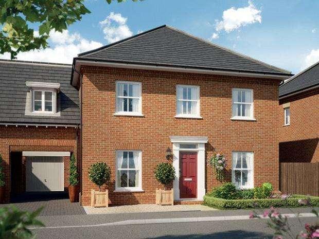 4 Bedrooms Link Detached House for sale in St James' Park, Cam Drive, Ely, Cambridgeshire