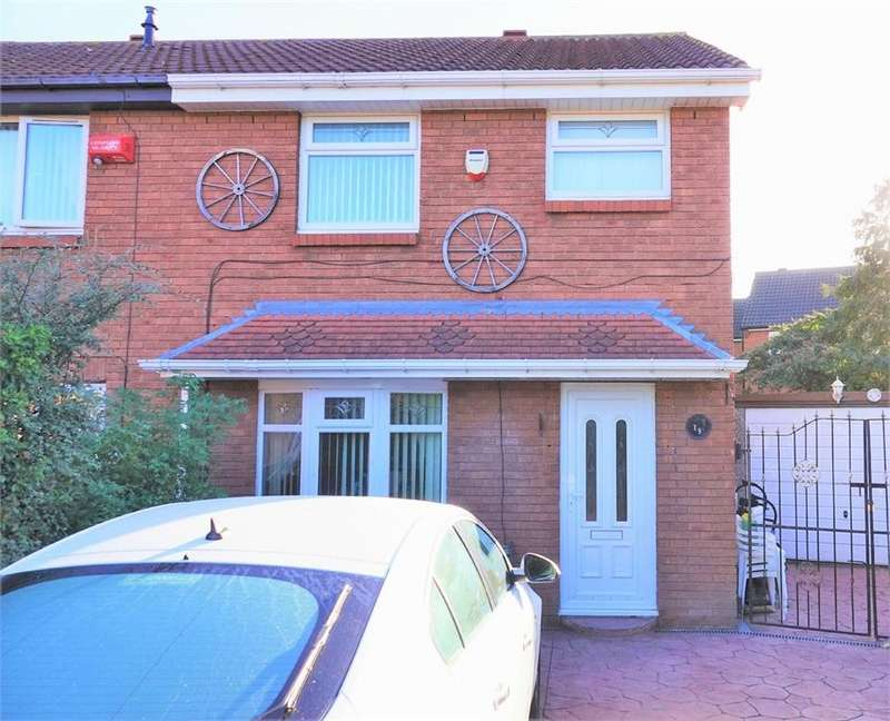 3 Bedrooms Semi Detached House for sale in Gordon Crescent, Grangetown, Middlesbrough