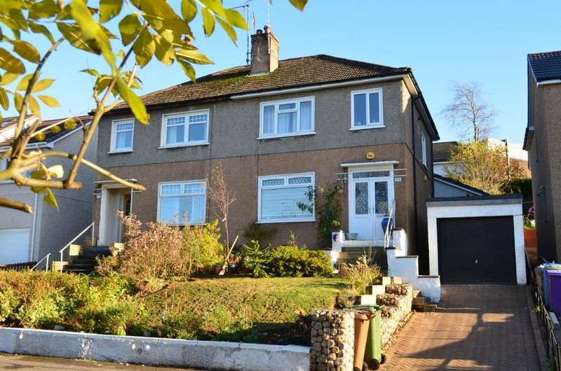 3 Bedrooms Semi Detached House for sale in Jordanhill Drive , Jordanhill, Glasgow, G13 1UQ