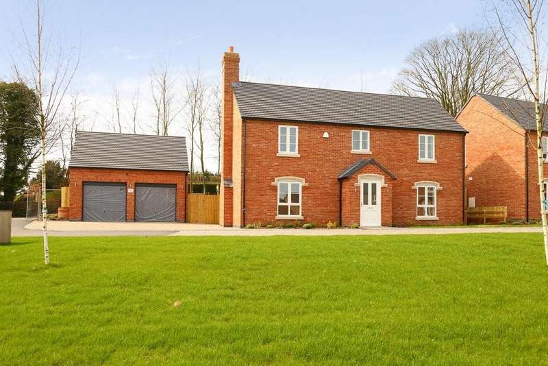 5 Bedrooms Detached House for sale in William Ball Drive, Horsehay, Telford, Shropshire, TF4 2NE
