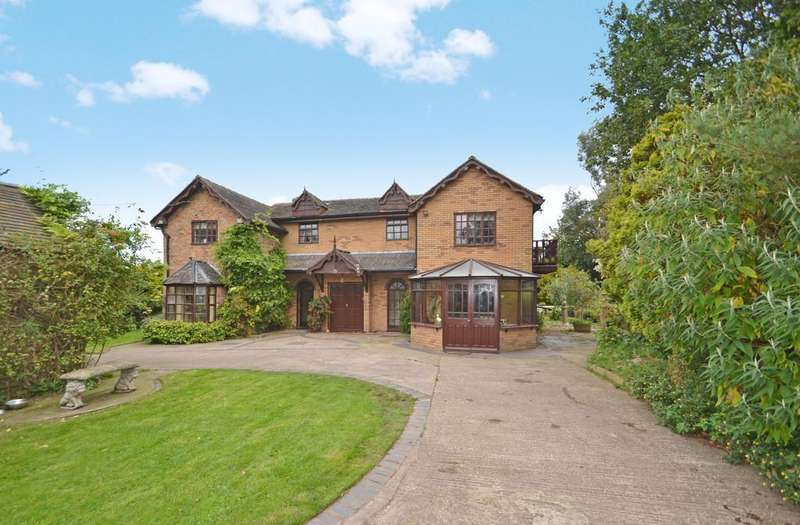 4 Bedrooms Detached House for sale in Gnosall Road, Knightley, ST20 0JS