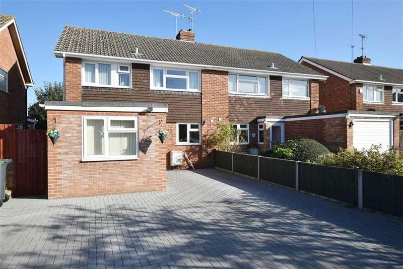 3 Bedrooms Semi Detached House for sale in Cooks Orchard, Gloucester