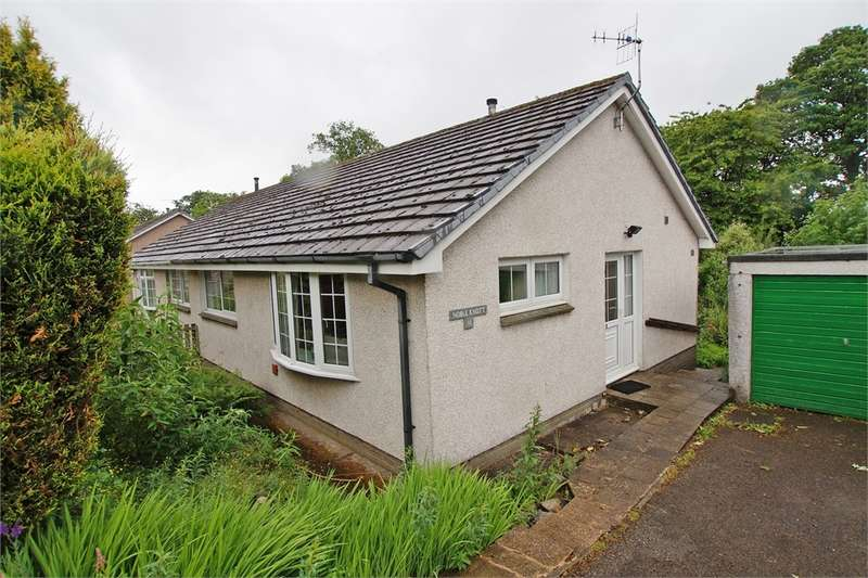 2 Bedrooms Semi Detached Bungalow for sale in CA12 4JJ Brackenrigg Drive, Keswick, Cumbria