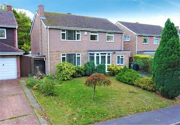 4 Bedrooms Detached House for sale in Delius Crescent, Broadfields, EXETER, Devon