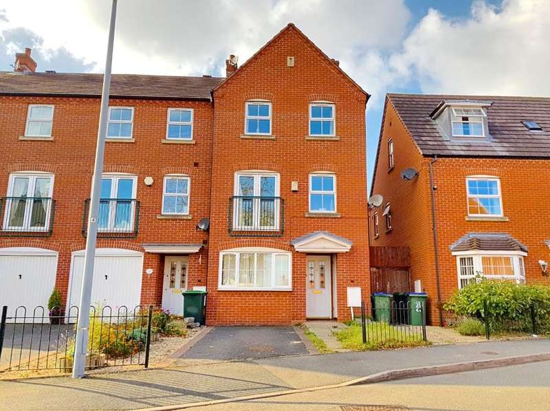 4 Bedrooms Town House for sale in DAVID HARMAN DRIVE, WEST BROMWICH, WEST MIDLANDS, B71 3RH