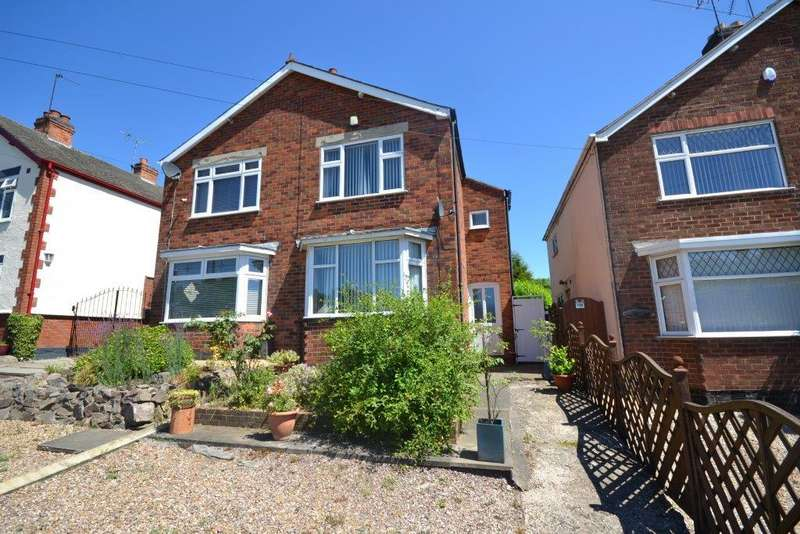 3 Bedrooms Semi Detached House for sale in Markfield Road, Groby, Leicester