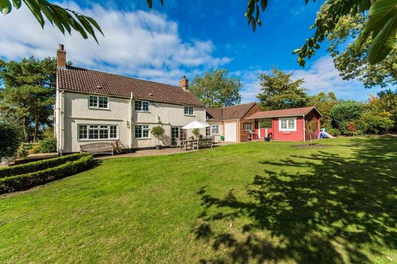 4 Bedrooms Detached House for sale in Sandy Lane, Tealby, Market Rasen, Lincolnshire, LN8
