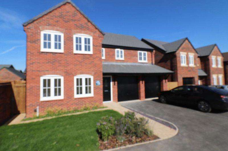 5 Bedrooms Detached House for sale in Flaxland Crescent, Loughborough