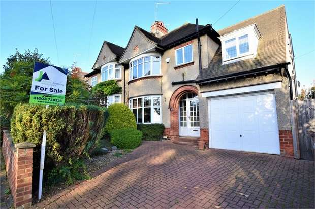4 Bedrooms Semi Detached House for sale in Chipsey Avenue, Rushmere, NORTHAMPTON