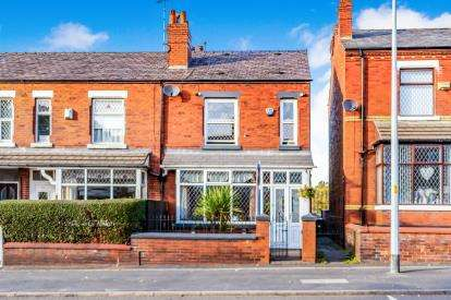3 Bedrooms Semi Detached House for sale in Stockport Road West, Bredbury, Stockport, Cheshire