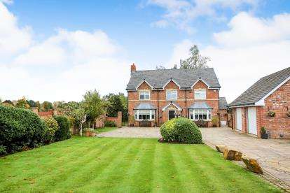 5 Bedrooms Detached House for sale in Altrincham Road, Wilmslow, Cheshire, .