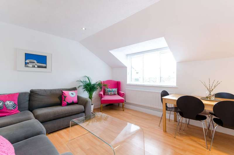 2 Bedrooms Flat for sale in Crown Dale, Upper Norwood, SE19