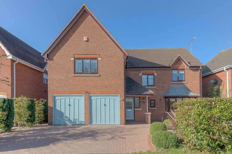 4 Bedrooms Detached House for sale in Woodcock Close, Gilmorton, Lutterworth