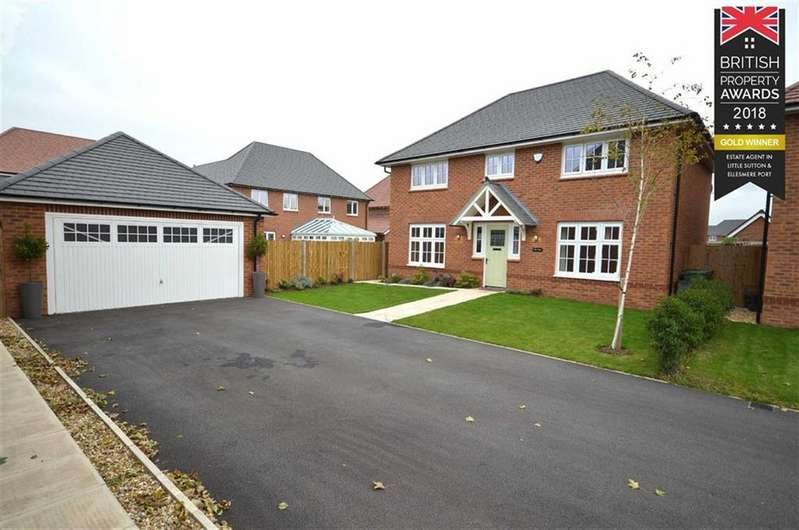 4 Bedrooms Detached House for sale in Rosewood Close, Little Sutton, CH66