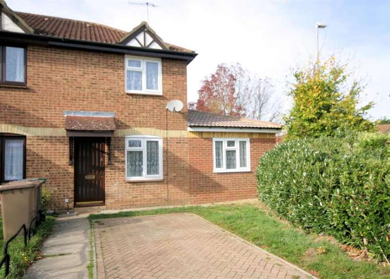 3 Bedrooms End Of Terrace House for sale in Elveden Close, Bushmead, Luton