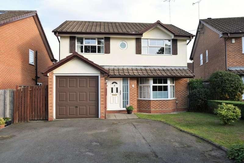 4 Bedrooms Detached House for sale in Burlington Court, Blackwater, Camberley