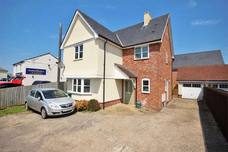 4 Bedrooms Detached House for sale in Post Office Cottages, Halstead Road, Eight Ash Green, CO6