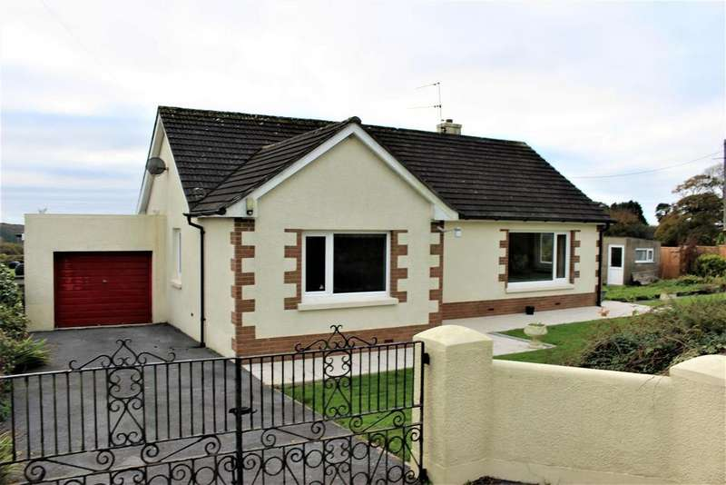 3 Bedrooms Bungalow for sale in Llanteg, Narberth