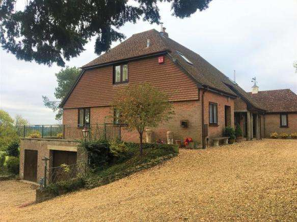4 Bedrooms Detached House for sale in Godshill