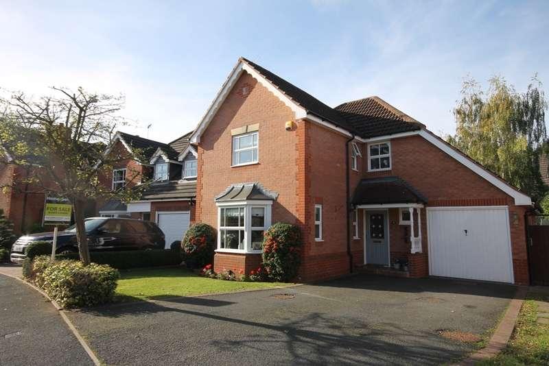 4 Bedrooms Detached House for sale in Tamarisk Close, Worcester, WR3