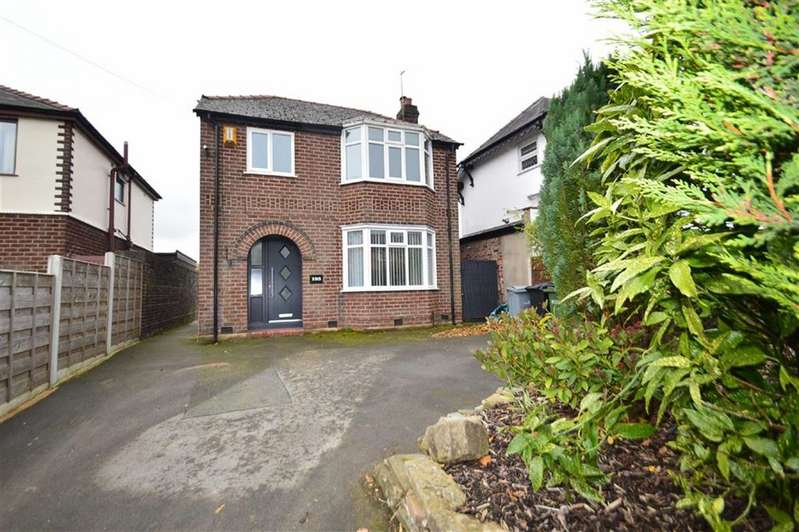3 Bedrooms Detached House for sale in Chester Road, Macclesfield