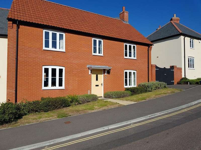 3 Bedrooms End Of Terrace House for sale in Lyme Close, Axminster