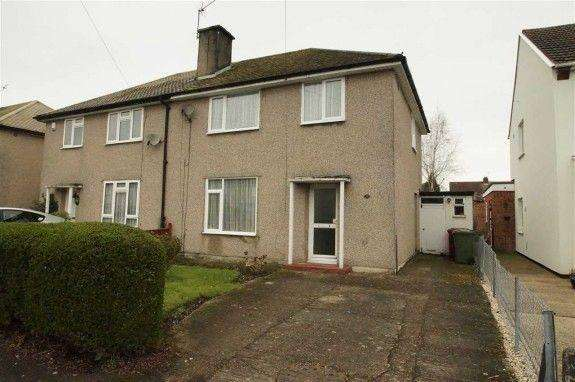 3 Bedrooms Semi Detached House for rent in Barnfield, Slough, Berkshire, SL1