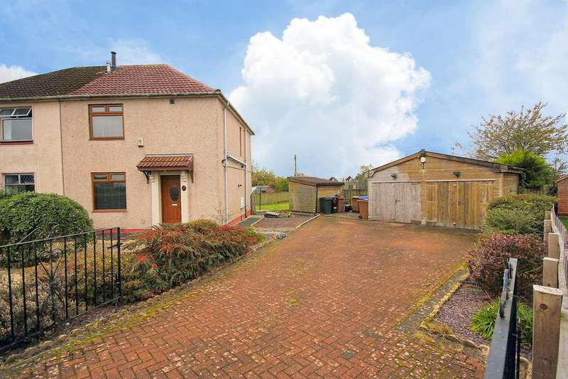 3 Bedrooms Semi Detached House for sale in Blair Avenue, Hurlford, Ayrshire KA1