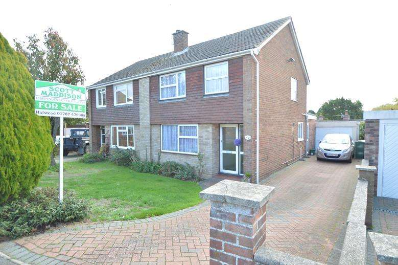 3 Bedrooms Semi Detached House for sale in Hilton Way, Sible Hedingham, Halstead CO9