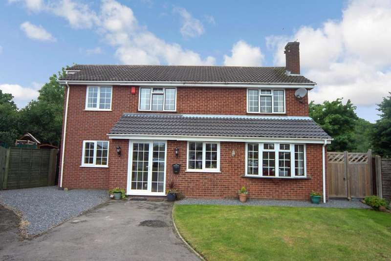 5 Bedrooms Detached House for sale in Hawthorn Crescent, Burbage, Hinckley