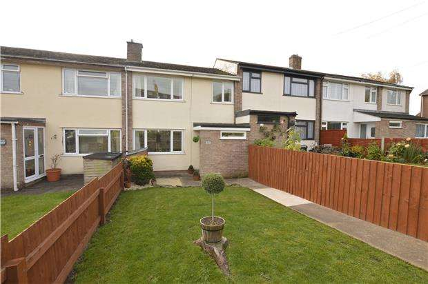 3 Bedrooms Terraced House for sale in Down Road, Winterbourne Down, BRISTOL, BS36 1BZ