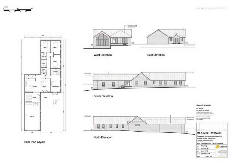 4 Bedrooms Detached Bungalow for sale in Middle Street, Hemswell, Gainsborough, Lincolnshire