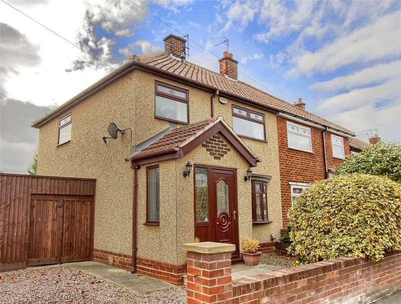 3 Bedrooms Semi Detached House for sale in Corfe Crescent, Billingham