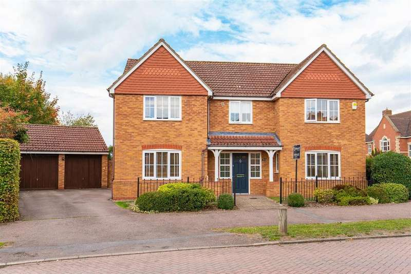 5 Bedrooms Detached House for sale in Cotswolds Way, Calvert
