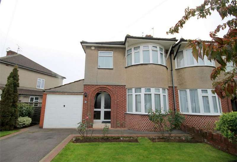 3 Bedrooms Semi Detached House for sale in Woodside Road, Downend, Bristol