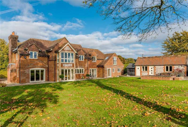 5 Bedrooms Detached House for sale in Lyeway Lane, Ropley, Alresford, Hampshire