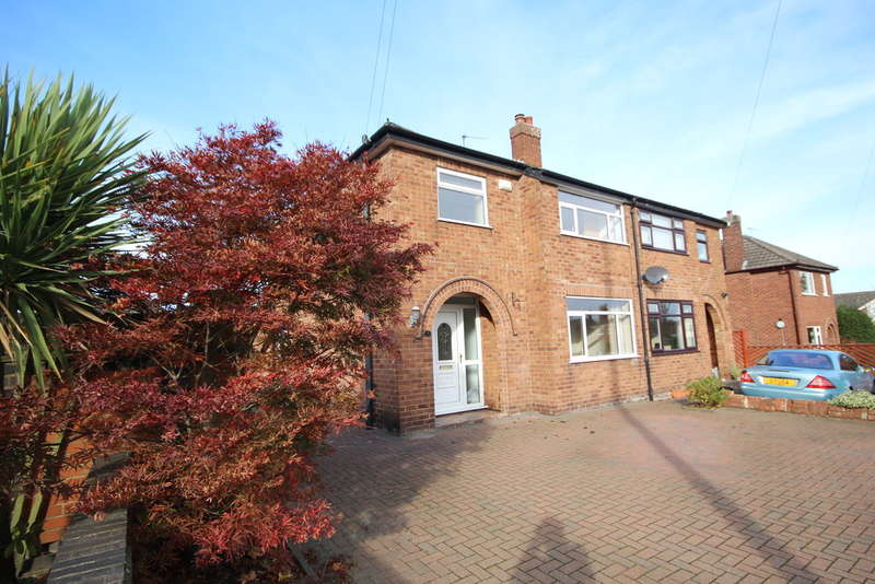 3 Bedrooms Semi Detached House for sale in Moorcroft Avenue, Great Boughton, Chester