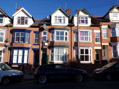 4 Bedrooms Terraced House for sale in Glenfield Road, Leicester, Leicestershire, England