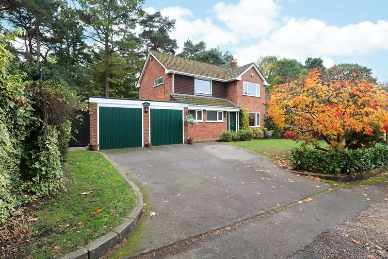 4 Bedrooms Detached House for sale in Arenal Drive, Crowthorne, Berskire, RG45